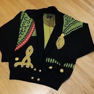 Vintage Laurel by Escada 90s Cardigan Sweater